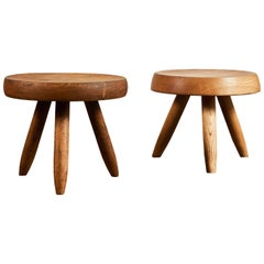 Stools by Charlotte Perriand for Galerie Steph Simon