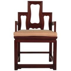 1960s Asian Throne Chair