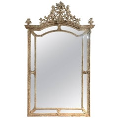 French 19th Century Napoleon III Period Mirror