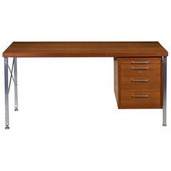 Midcentury Executive Desk by Hans Wegner for Johannes Hansen, circa 1960s