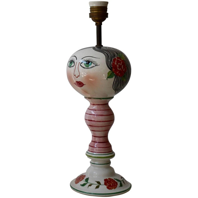 Italian Table Lamp For Sale