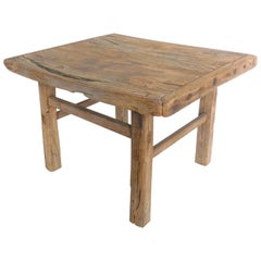 Small Antique Elm Table