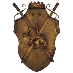 1960s Italian Iron Shield