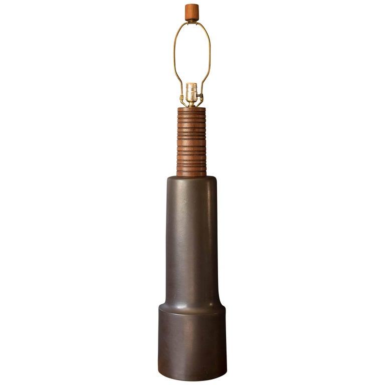 Tall Mid Century Martz Table Lamp for Marshall Studios