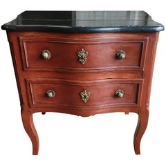 Petite Louis XV Period Painted Commode