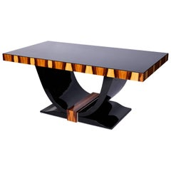 Exceptional French Art Deco Style Dining Table