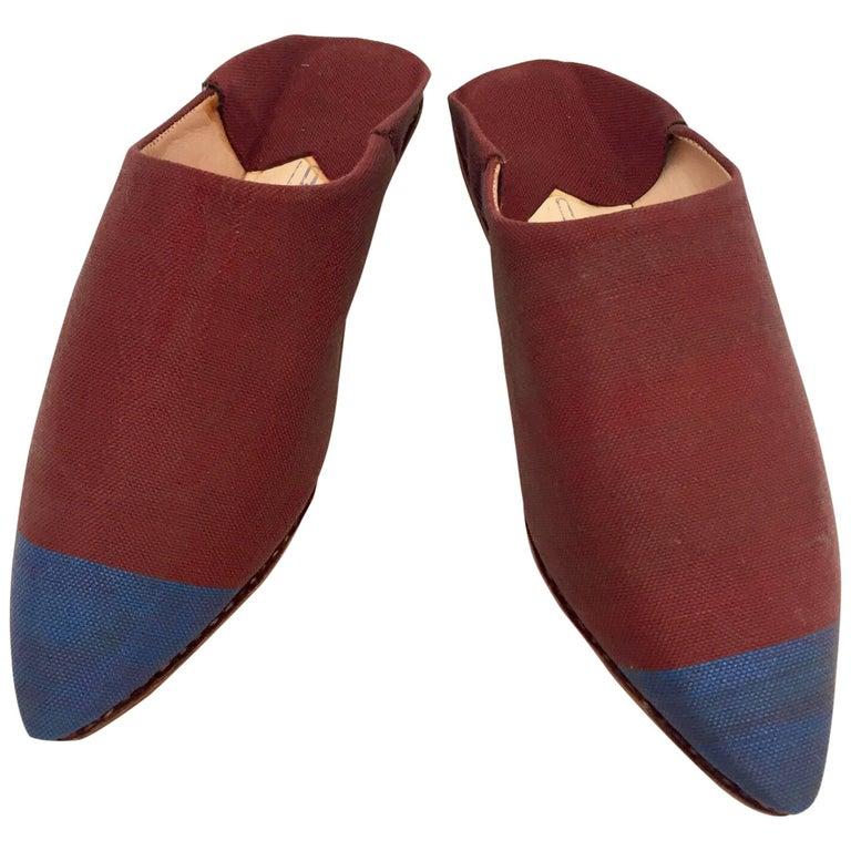 Moroccan Silk Slippers