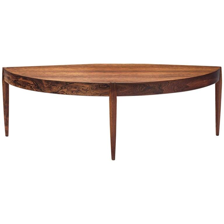 Danish Rosewood Tripod Coffee Table