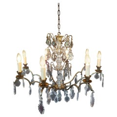 French Chandelier with Eight Lights