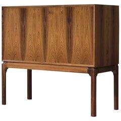 Danish Rosewood Bar Cabinet