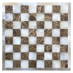 Onyx Game Board For Chess or Checkers