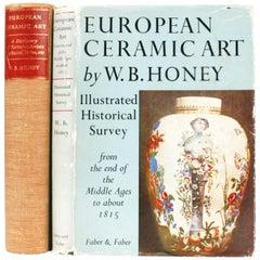 Two Volume Set on European Ceramic Art