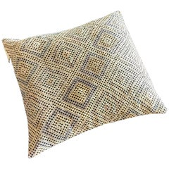 Pasha 1 Floor Cushion with Authentic Turkish Kilim Cover