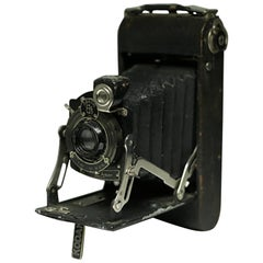 Leather Wrapped Eastman Kodak Fold Out Land Camera, circa 1920s
