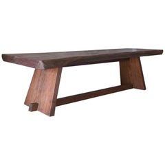 Single Plank English Walnut Table