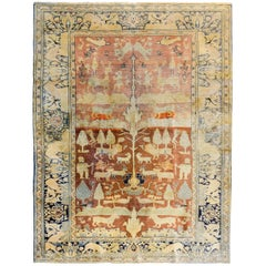 Wonderful Early 20th Century Pictorial Anatolian Rug
