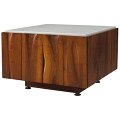 Phillip Lloyd Powell Walnut Coffee Table