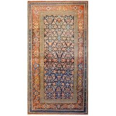 Exceptional Late 19th Century Bidjar Rug