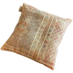 Pasha 3 Floor Cushion with Authentic Turkish Kilim Cover