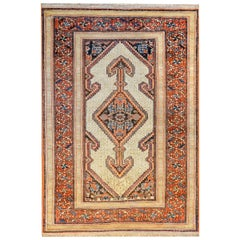 Gorgeous Late 19th Century Serab Rug