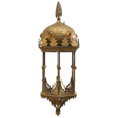 Middle Eastern Moorish Style Six-Sided Lantern First Quarter of the 20th Century