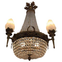 Stunning Antique French Chandelier