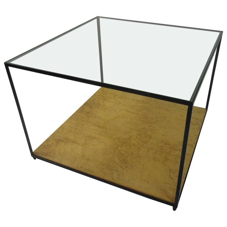 Edward Wormley Cube Coffee Table for Dunbar