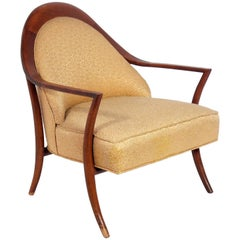 Curvaceous Lounge Chair by T.H. Robsjohn-Gibbings