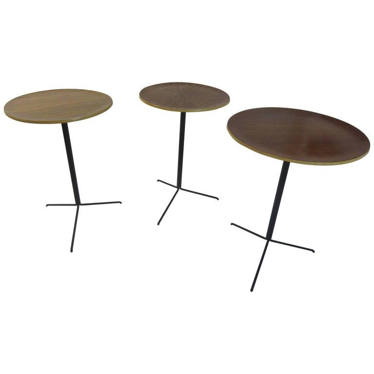Osvaldo Borsani Tecta Side Tables