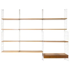 Large Wall Mount Bookshelf by String