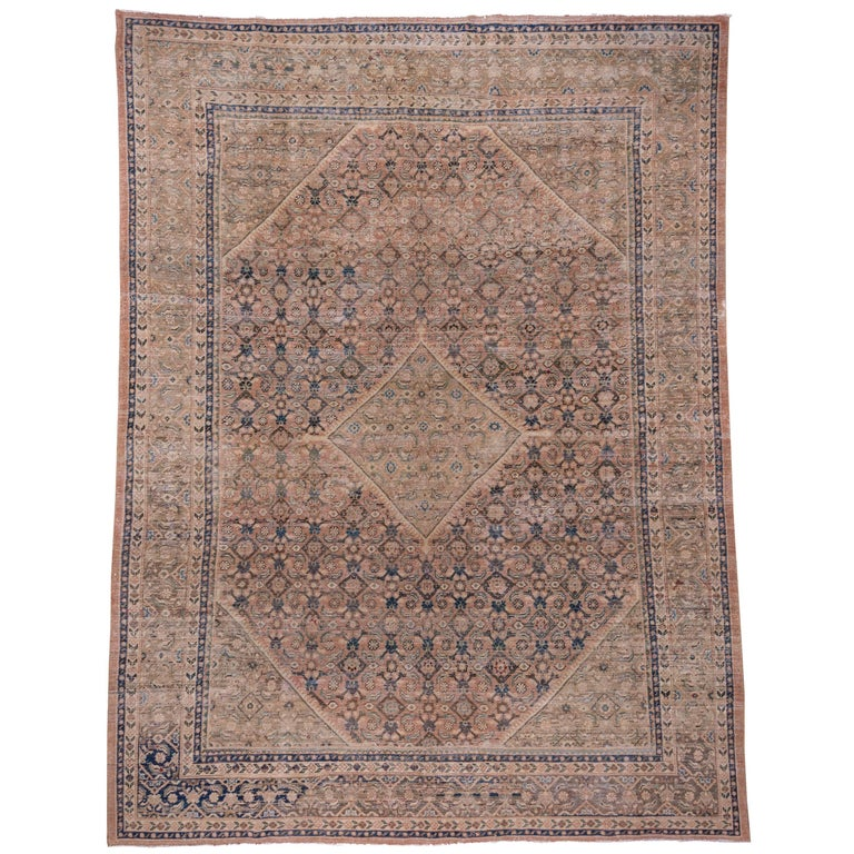 Vintage Bijar Carpet At 1stdibs