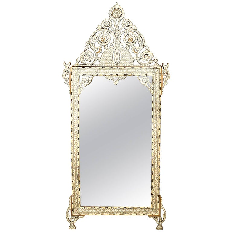 Middle Eastern Moorish Style Mirror For Sale