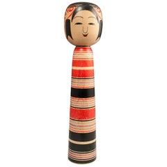 Midcentury Traditional Kokeshi Doll from Tsuchiyu, Japan