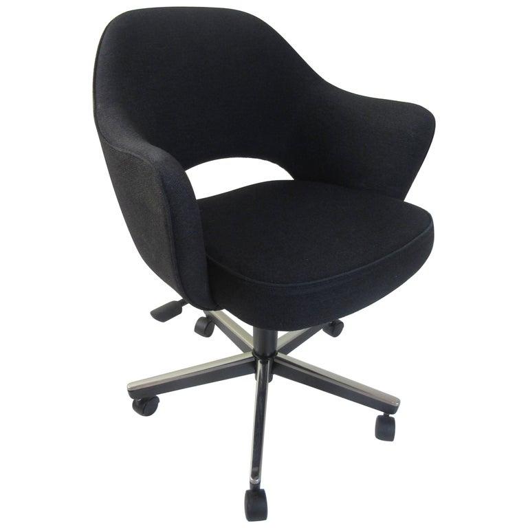 Eero Saarinen for Knoll Office Swivel Chair