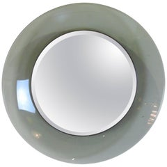 Fontana Arte by Max Ingrand Glass Concave Mirror