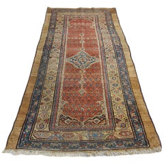 Early 20th Century Caucasian Runner Rug