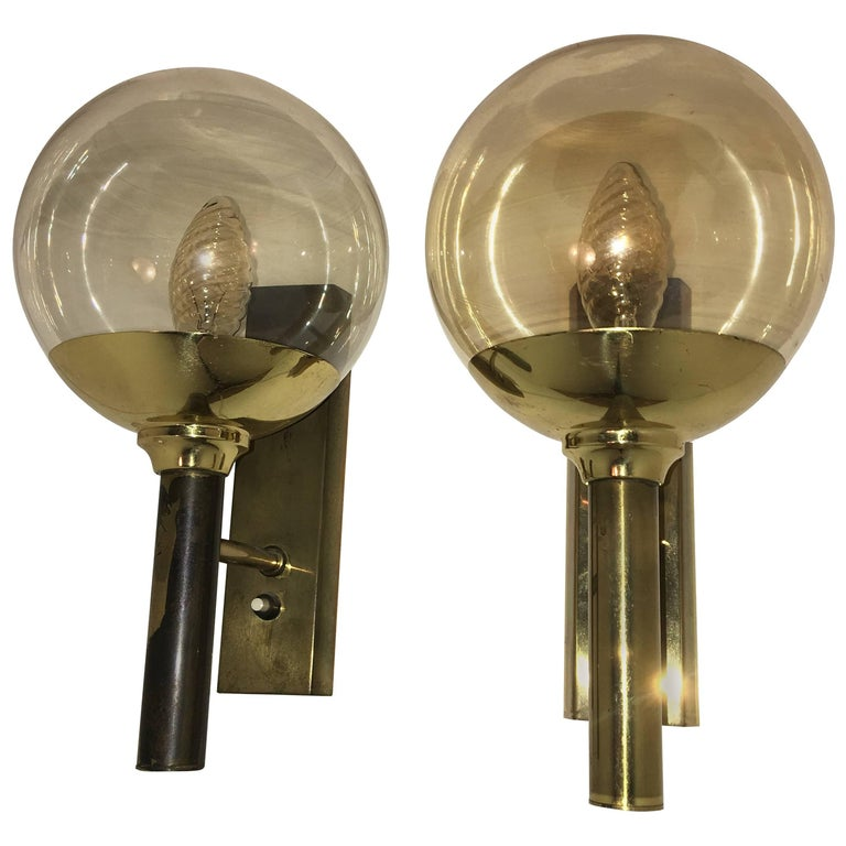 Pair of Svend Mejlstrom Sconces by Mejlstrom Belysning of Norway For Sale