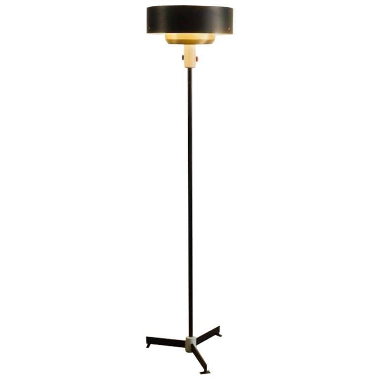 Niek Hiemstra, 8619 Evolux Floor Lamp, 1955