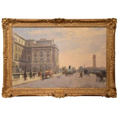 """""""Waterloo Bridge from Somerset House"""" by Francis Dodd"""