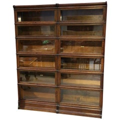 Original Oak Globe Wernicke Bookcase