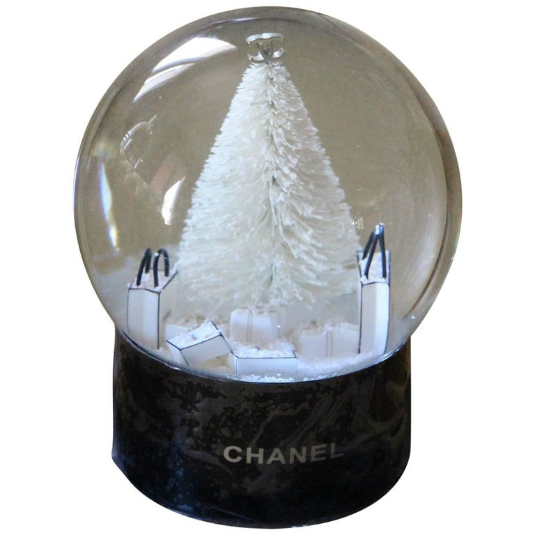 Chanel Snow Globe Dome