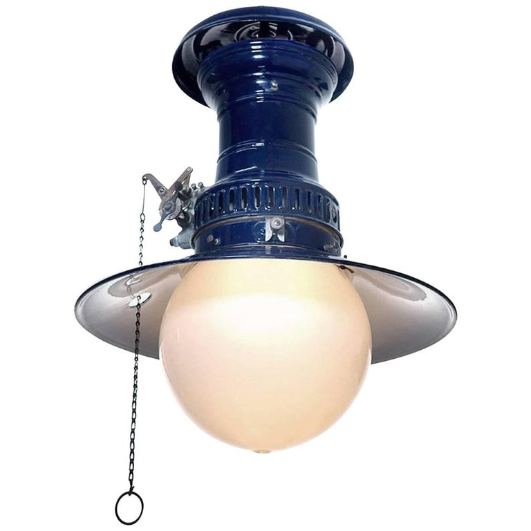 Original Cobalt Blue Humphrey Lantern