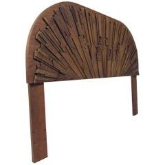 Queen Size Brutalist Headboard by Lane Furniture
