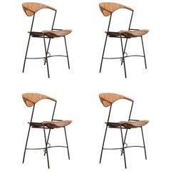 Four Arthur Umanoff Dining Chairs