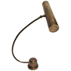 Bauhaus Style Art Deco Bronze Piano Lamp or Desk Lamp
