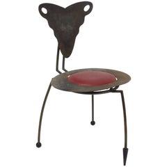 French Sculptural Praying Mantis Chair