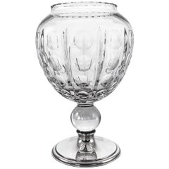 Sterling and Crystal Vase