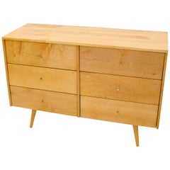 Paul McCobb Six-Drawer Dresser or Chest, Planner Group