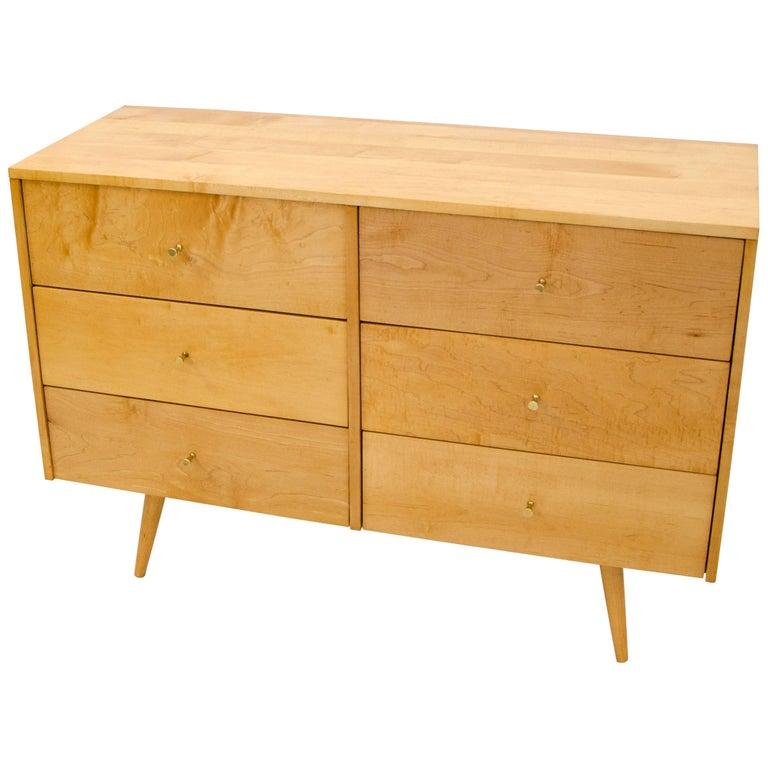Paul McCobb Six-Drawer Dresser or Chest, Planner Group