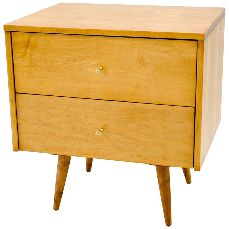 Paul McCobb Two-Drawer Cabinet or Nightstand, Planner Group
